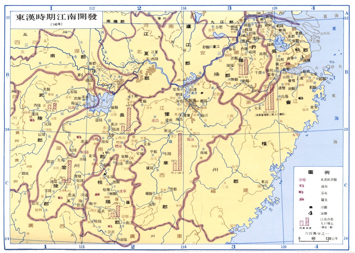 东汉时期江南开发